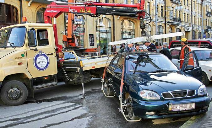 Как забрать машину со штрафстоянки после ее эвакуации