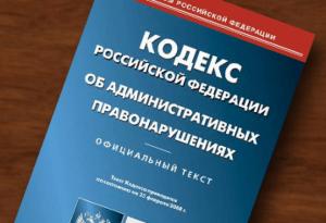 Назначение административных наказаний