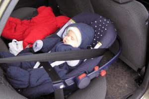 Расположение люльки в машине