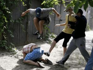 Групповое избиение