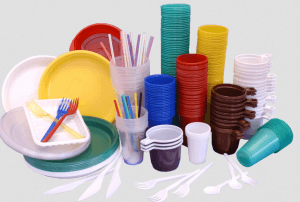 Малоценные предметы - одноразовая посуда