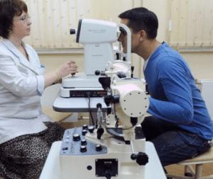 Медкомиссия - прохождение офтальмолога
