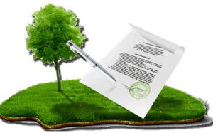 Участок с документом