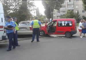 Авария на нерегулируемом перекрестке