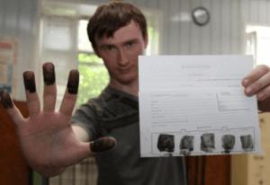 Дактилоскопия позволяет установить личность