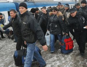 Нелегальные мигранты в РФ