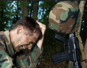 Психоз у военнослужащего