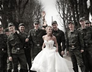 Свадьба военнослужащего