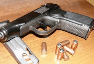 Травматический пистолет Маеарова