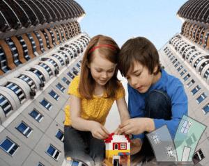 Регистрация детей в квартире