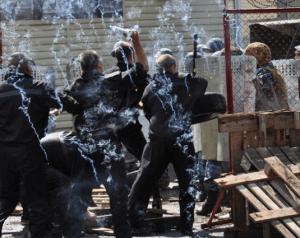 Конфликт между заключенными и администрацией колонии