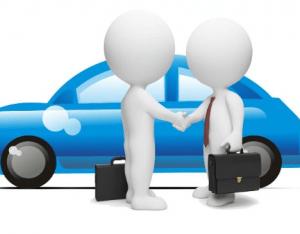 Предварительная договоренность о продаже машины