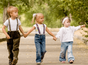 Три ребенка в семье