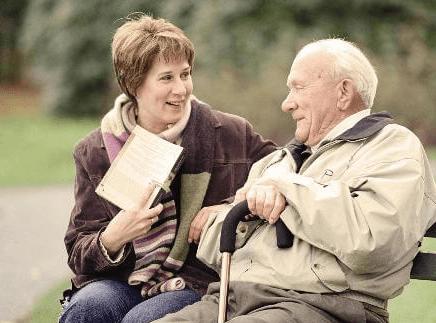 Попечительство в форме патронажа над пожилым человеком