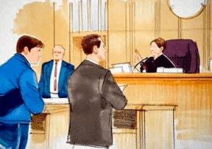 Участники ДТП в суде