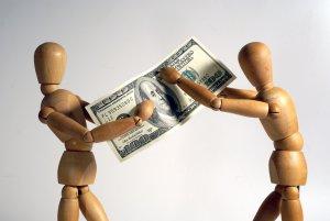 Взыскание денежных средств