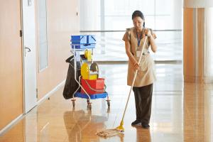 Школьная уборщица