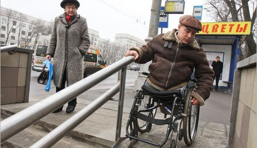 Инвалиды в России