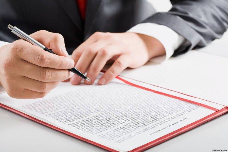 Подписание договора поставки