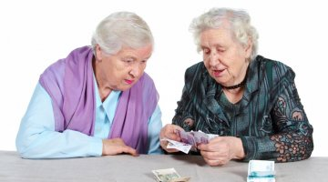 Пенсионеры и пенсия