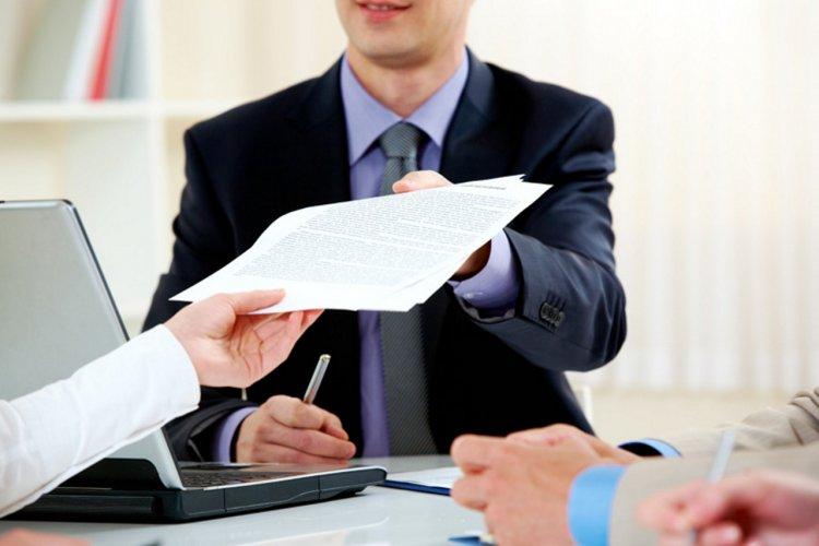 Подача документов в банк