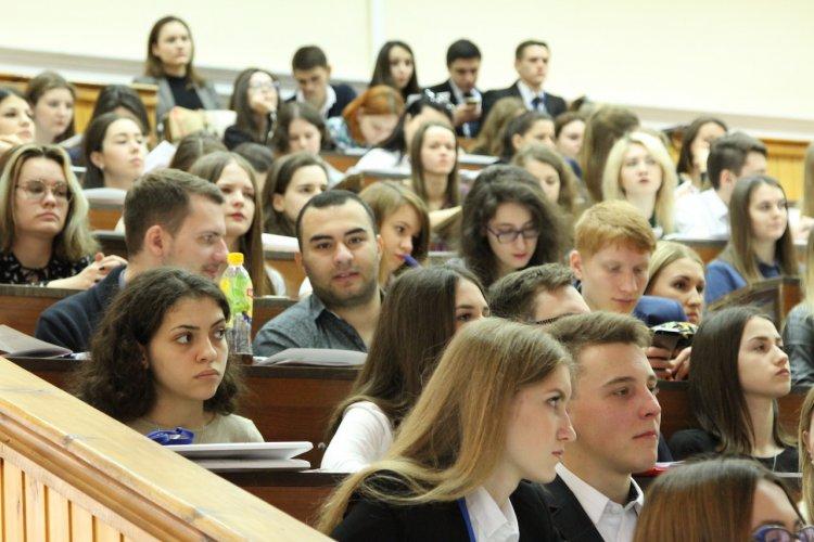 Студенты юридического факультета