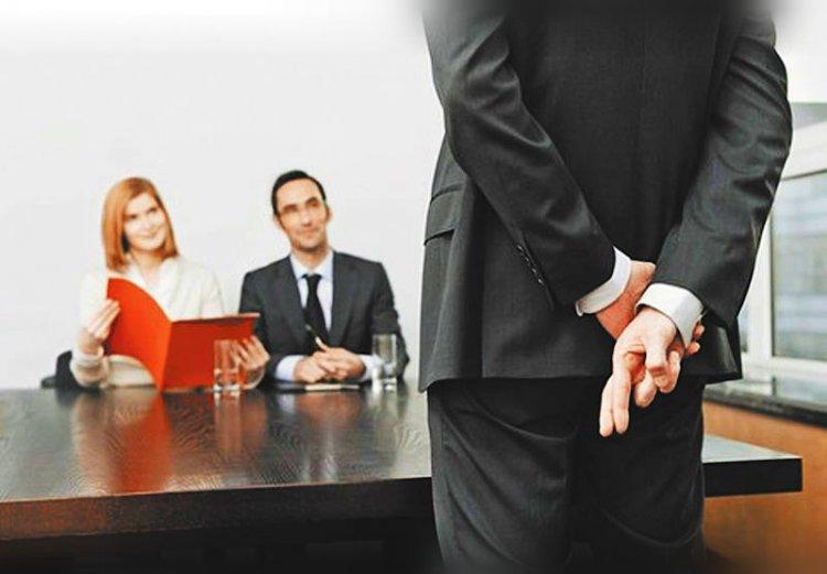 Собеседование при устройстве на работу