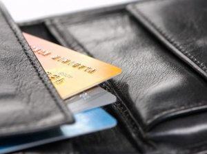 Банковские карты в бумажнике