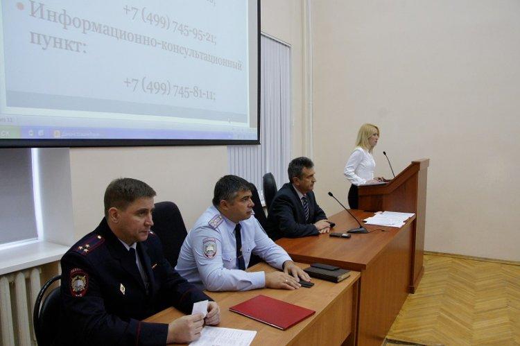 Приемная комиссия в академии МВД