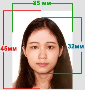 Размеры фото на паспорт