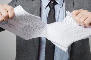 Досрочное расторжение договора