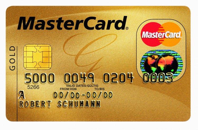 Банковская карта MasterCard