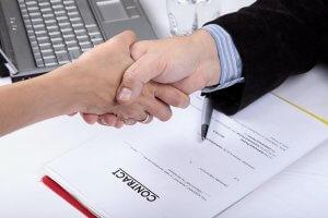 Внешнеторговый контракт: образец, правовой порядок его заключения