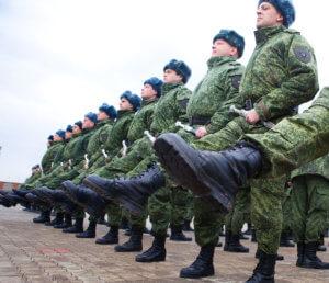 Построение военнослужащих