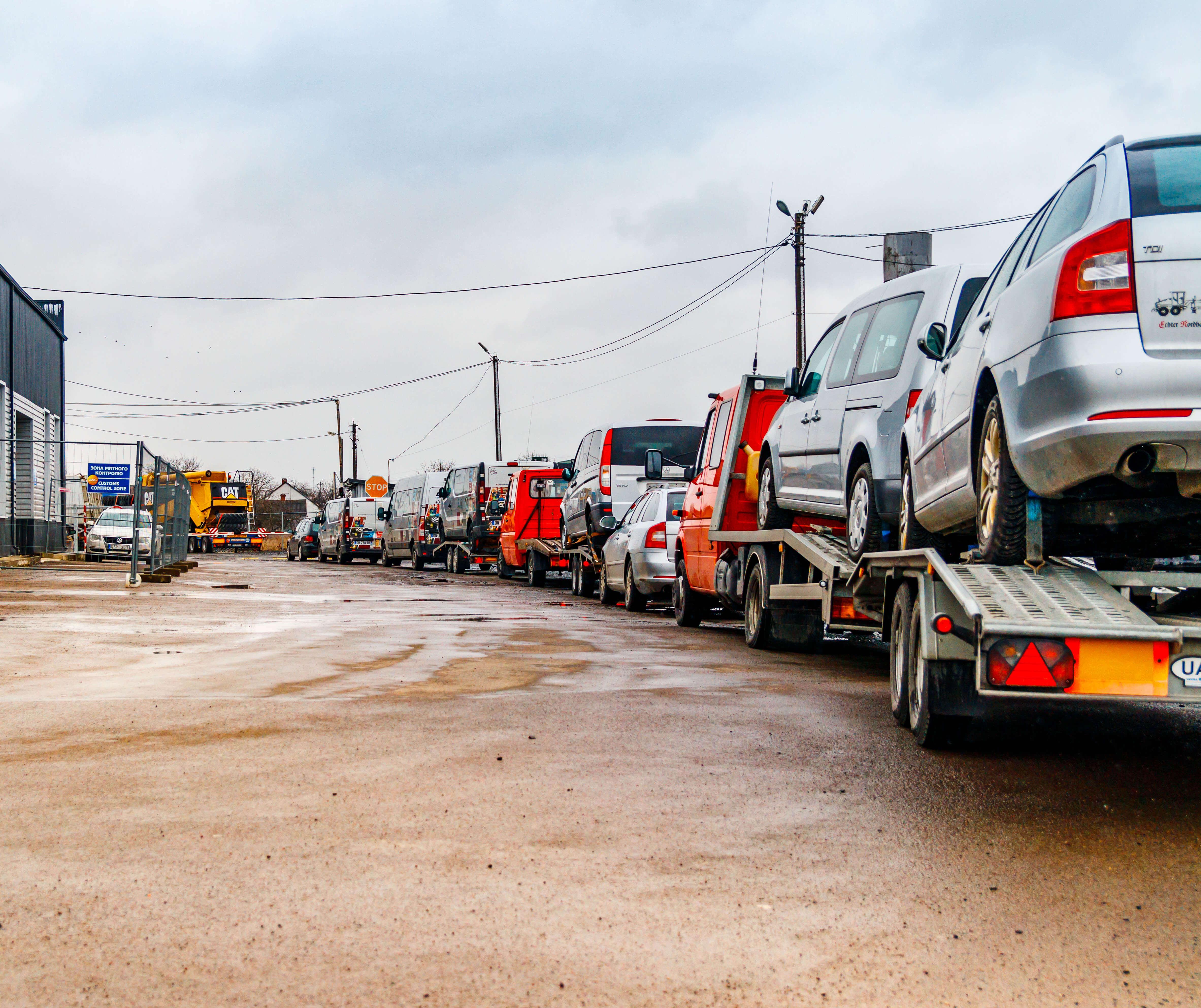 Растаможка авто из Украины в Россию: что ждет владельцев на границе