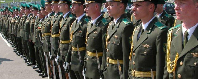 Как поступить на службу по контракту в пограничные войска