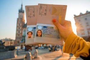 Тур. виза в Польшу