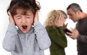 От развода страдают дети