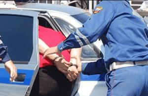 Задержание водителя, скрывшегося с места ДТП