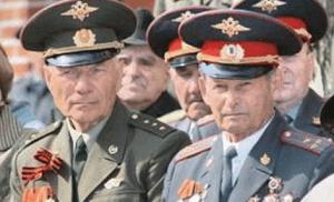 Сотрудники МВД в отставке