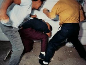 За избиение человека предусмотрено наказание