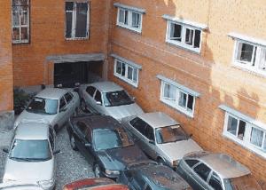 Такая парковка недопустима