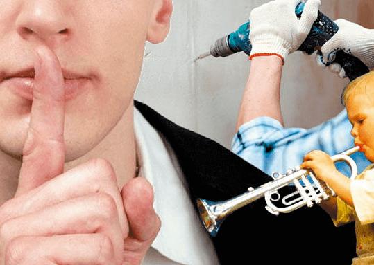 Закон: шум в квартире, как наказать нарушителя штрафными санкциями