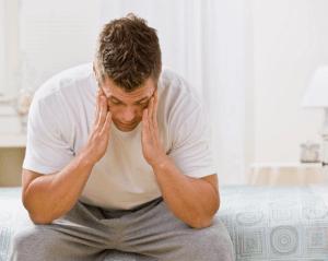 Симптомы ВСД у мужчины