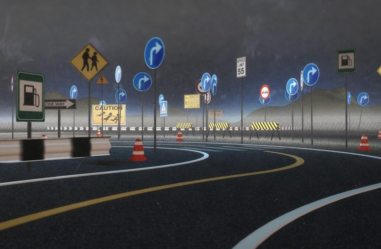 Общие правила установки знаков дорожного движения