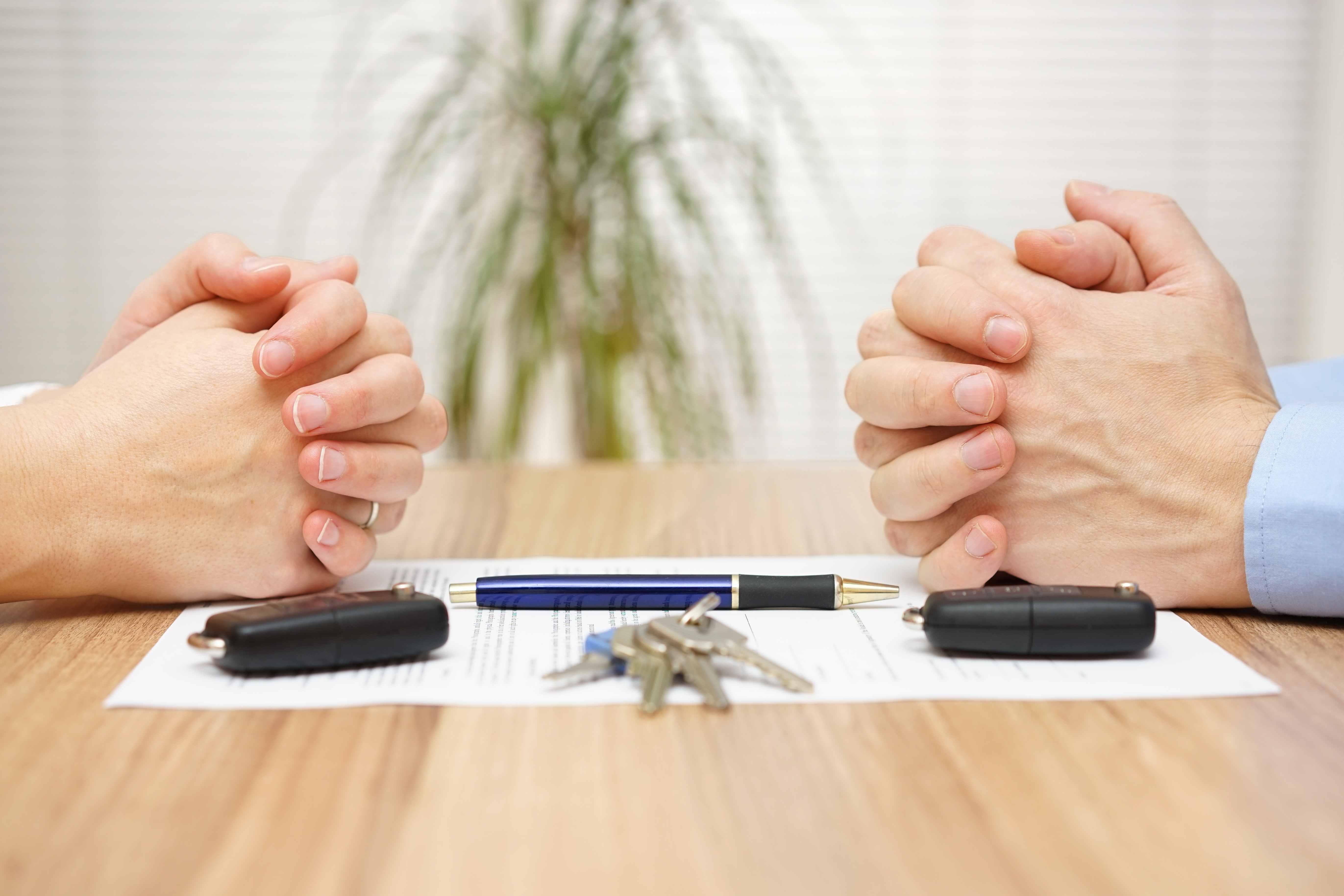 Раздел имущества: как при разводе делится машина