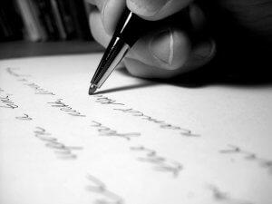 Написание расписки