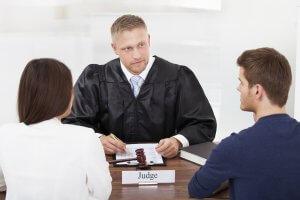 Процедура развода в суде