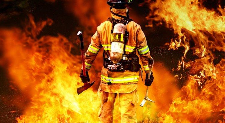 Храбрость пожарного