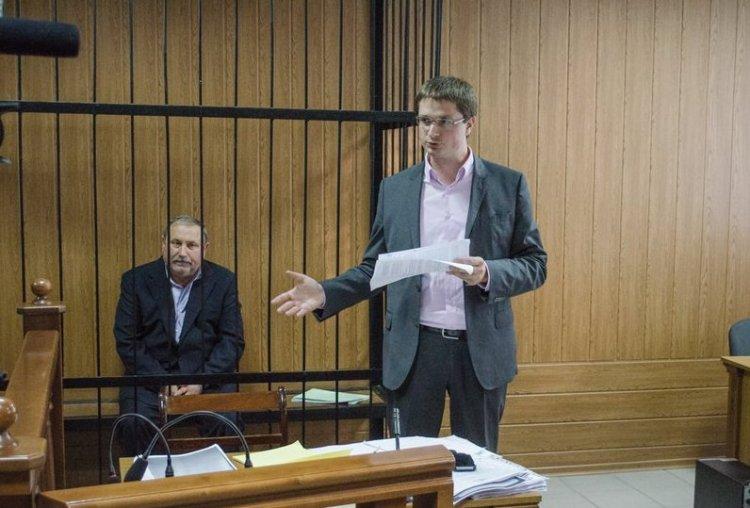 Адвокат на судебном заседании